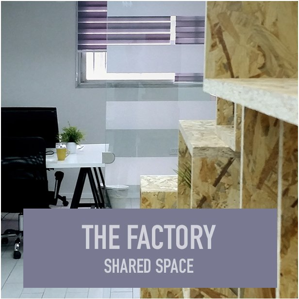 The Factory shared working space חלל עבודה משותף בתל אביב